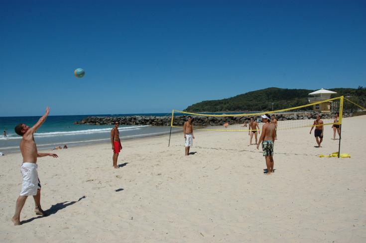 Volley-ball sur la plage